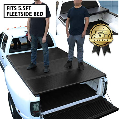 DNA Motoring TTC-HARD-001 Truck Bed Top Hard Solid...