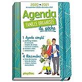 Agenda de poche de la famille organisée 2021 - Bleu (de sept 2020 à décembre...