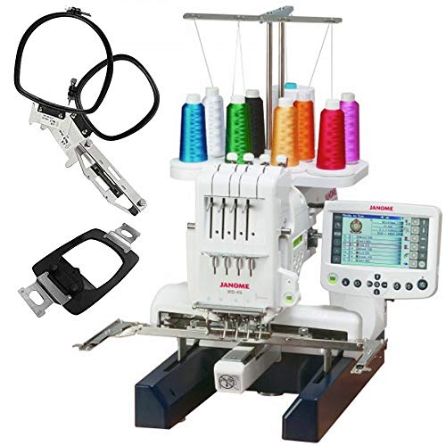 Product Image 1: Janome MB-4S Four-Needle Embroidery Machine