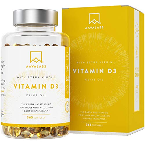 Vitamina D3 [5000 UI] Pura Altamente Concentrada - Vit D3 con Aceite...