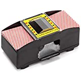 Casino Automatic Card Shuffler for Poker Games(2 Deck, 4 Deck, 6 Deck) (Plastic - 2 Deck)