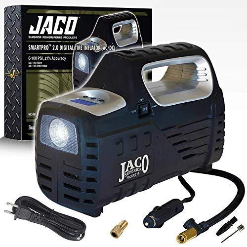 JACO SmartPro 2.0 AC/DC Digital Tire Inflator -...