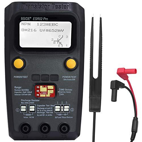 Bside Transistor Tester ESR LCR Meter Automatic...