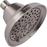Shower Massage Head With Mist - High Pressure Boosting, Multi-Function, Massager Rainfall Showerhead For Low Flow Showers & Adjustable Water Saving Nozzle, 2.5 GPM - Brushed Nickel