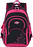 Cartable Fille, Coofit Sac a Dos Fille en Oxford Cartable Enfant Primaire...