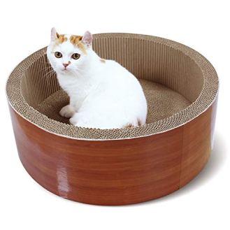 ScratchMe-Cat-Scratcher-Post-Board-Round-Cat-Scratching-Lounge-Bed-Durable-Pad-prevents-Furniture-Damage-1732-x-1732x-611