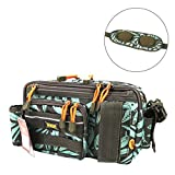 Kingdom Multifunctional Fishing Backpack, Waterproof Fishing Lure Tackle Bag with Detachable...
