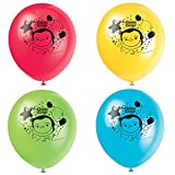 Unique Industries Curious George Latex Helium Balloons [8 per Pack]