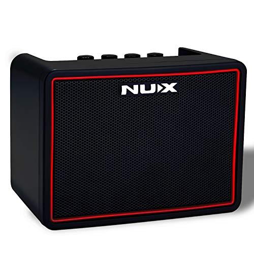 Asmuse Electric Guitar Amplifier 3W Power Amp Bluetooth Speaker Wireless Practice Mini Portable Multifunction Guitar Ampli