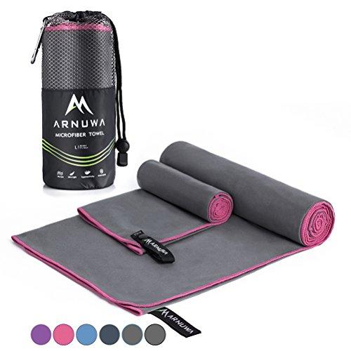 Arnuwa Microfiber Travel Towel Set