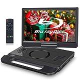 FANGOR Lecteur DVD Blu-Ray Portable 12 Pouces Accepte Full HD 1080P Dolby Audio,...