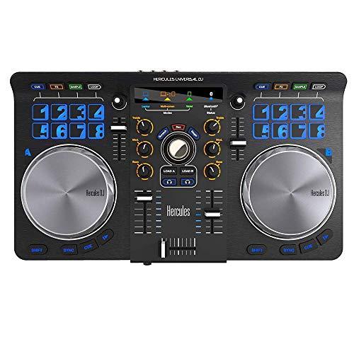 HERCULES Universal DJ - Consolle per DJ, Nero