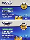 Equate Maximum Strength Laxative Pills, Sennosides 25 mg, 48 Pills