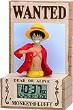 ONE PIECE モンキー・D・ルフィ 新世界バージョン 3D音声目覚し時計 8RDA56RH01 8RDA56RH01