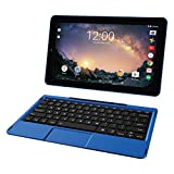 RCA Galileo 11.5' 32 GB Touchscreen Tablet Computer with Keyboard Case Quad-Core 1.3Ghz Processor 1GB Memory 32GB HDD Webcam Wifi Bluetooth Android 8.1 - Blue