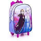 Frozen II - Carrito de ruedas compacto con Anna y Elsa
