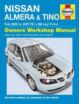 Nissan Almera & Tino Service and Repair Manual: 00-07