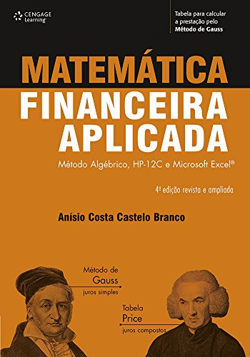 Applied financial mathematics: Algebraic method, HP-12C and Microsoft Excel
