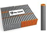 Ray Squad 200 Pack Black Koosh Darts Nerf Compatible Darts Compatible with N-Strike Elite Series Blasters