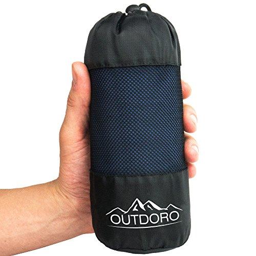 Outdoro - Sac de couchage de refuge - Ultra léger -Seulement 350g - En...