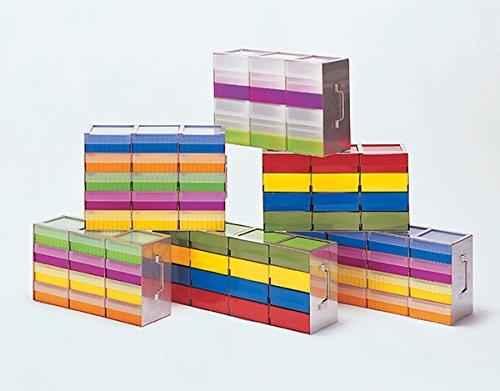 Dutscher 130224mensola orizzontale 32x 4mm (8), livelli per freezer Container, 130mm x 130mm x 32mm