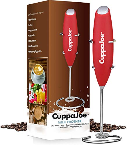 CuppaJoe Milk Frother (Red)