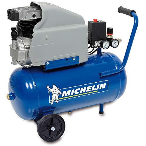 MICHELIN CA-MB24 - Compresor 24 lt. - 2 HP peak - 8 BAR - 200 LT./MIN.