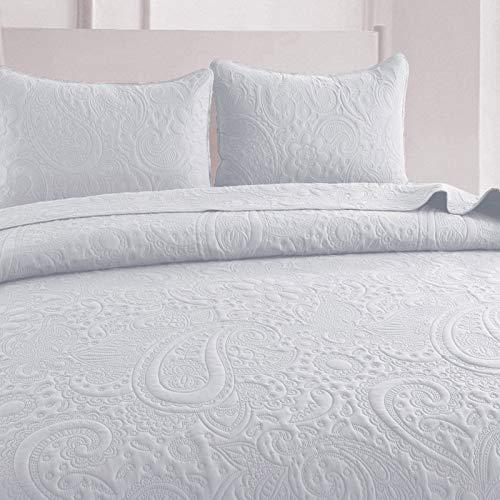 Bouti Bedspread Bed 150 / Summer Bedspread-Summer Bedspread Between Season (Sealed White, Bed 150)