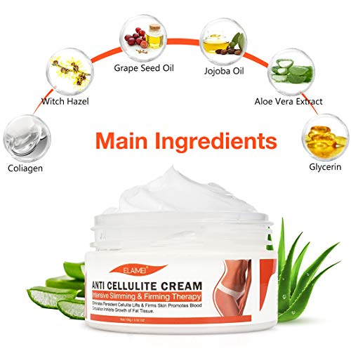 Hot Cream Cellulite Treatment,Slimming firming Cream,Break Down Fat Tissue,Tightens and Moisturizes Skin,Body Fat Burning Best Weight Loss Cream and Slimming Cellulite Tightening cream 5