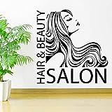 Peluquería salón de belleza peluquería vinilo arte decoración