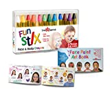 Dress-Up-America Face Paint Crayons - With Artbook & Easy To Follow...