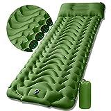 Sleeping Pad Camping Mattress Mat - Ultralight Sleeping Pad for Camping - 4 Inch Thick Waterproof...