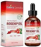 Aceite de Rosa Mosqueta (120ml). Aceite orgánico certificado. Prensado en frío y sin refinar. 100%...