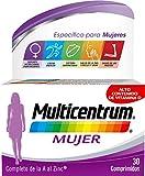 Multicentrum Mujer Complemento Alimenticio Multivitaminas con 13 Vitaminas y 11 Minerales, Sin...