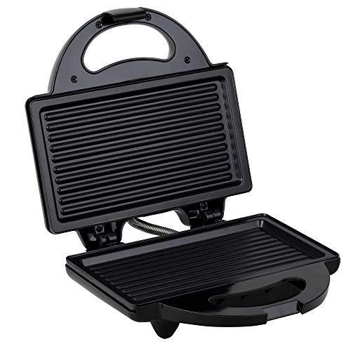 Lifelong LLSM115G 750-Watt 4-Slice Grill Sandwich Maker (Black)