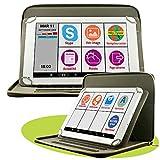 Mobiho Essentiel - La tablette INITIALE 10P avec pochette luxe, l'essentiel pour bien débuter avec une interface sénior sur mesure modulable et applications simplifiées : Skype, raccourcis, mail simplifié, internet simplifié - 6 heures de coach accompagnateur - un écran 10 pouces, confort visuel - Pochette de protection repositionnable - Internet avec : WIFI et/ ou carte SIM 3G - AUCUN ABONNEMENT MENSUEL (hors votre propre connexion internet wifi ou 3g) - DEBLOQUE TOUT OPERATEUR