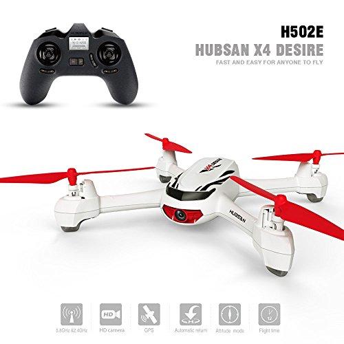 Hubsan H502E X4 Droni Quadricotteri GPS Fotocamera 720P HD con Telecomando(H502E)