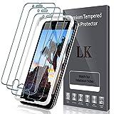 LK【3枚セット】[ガイド枠付き]iPhone SE 第2世代(2020)/ iPhone SE 2 用 強化ガラス液晶……