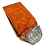 Better Outdoor Emergency Sleeping Bag Thermal Bivvy - Use as Emergency Bivy Bag, Survival Sleeping Bag, Mylar Emergency Blanket, Survival Gear
