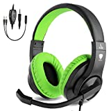 BlueFire 3.5mm Bass Stereo Over-Ear Gaming Headphone PS4 Gaming Headset with Microphone and Volume...