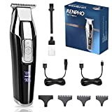 Trimmer for Men, RENPHO Professional Cordless Clippers Kit Electric for Barbers Hair Cutting, Hair...