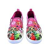 Shopkins Girls Slip-on Canvas Shoes, Size 12 Fuchsia