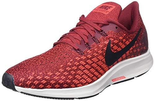 Nike Air Zoom Pegasus 35, Zapatillas de Running Hombre, Rojo...