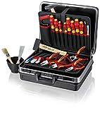 KNIPEX Montaje maletín eléctrico de instalación, 24Unidades, 002105hls