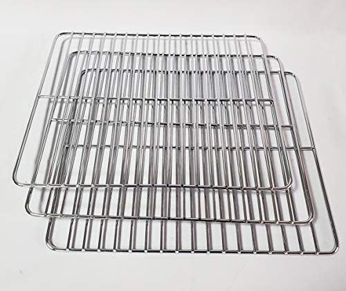 Unifit Cooking Grate Jerky Rack Replacement Parts for Smoke Hollow 30 inch Propane Gas Smoker GS30181 30164G (Cooking Rack 3 PC)
