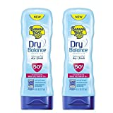 Banana Boat Dry Balance Sunscreen Lotion, SPF 50, 6 fl oz (Pack of 2)