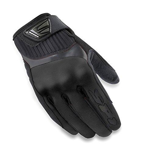 SPIDI B48-026- L Motorcycle G-Flash Tex Gloves, Black, Size L