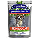 The Missing Link - Organic Pet Kelp, Skin & Coat Formula — Limited ingredient Superfood Supplement for Dogs rich in balanced Omegas 3, 6, and 9 to support healthy nutrition and skin & coat health —  8 ounces