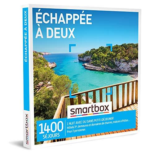 SMARTBOX - Coffret Cadeau Couple - Idée cadeau original : Séjour...