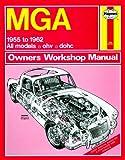 Haynes Manuel pour MGA (55–62), y compris un AA en microfibre Gant de toilette